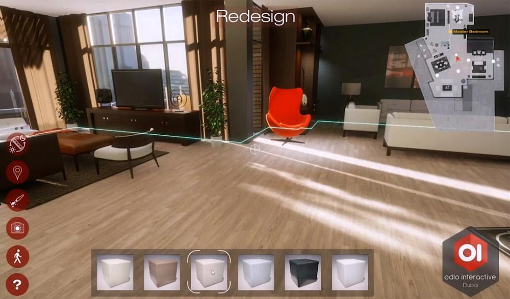 Interactive 3D Walkthrough