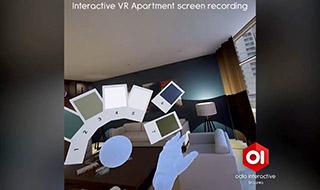 Interactive Virtual Reality (VR) Apartment Walkthrough